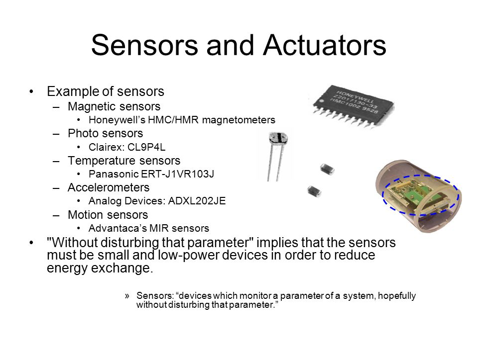 Examples of actuators