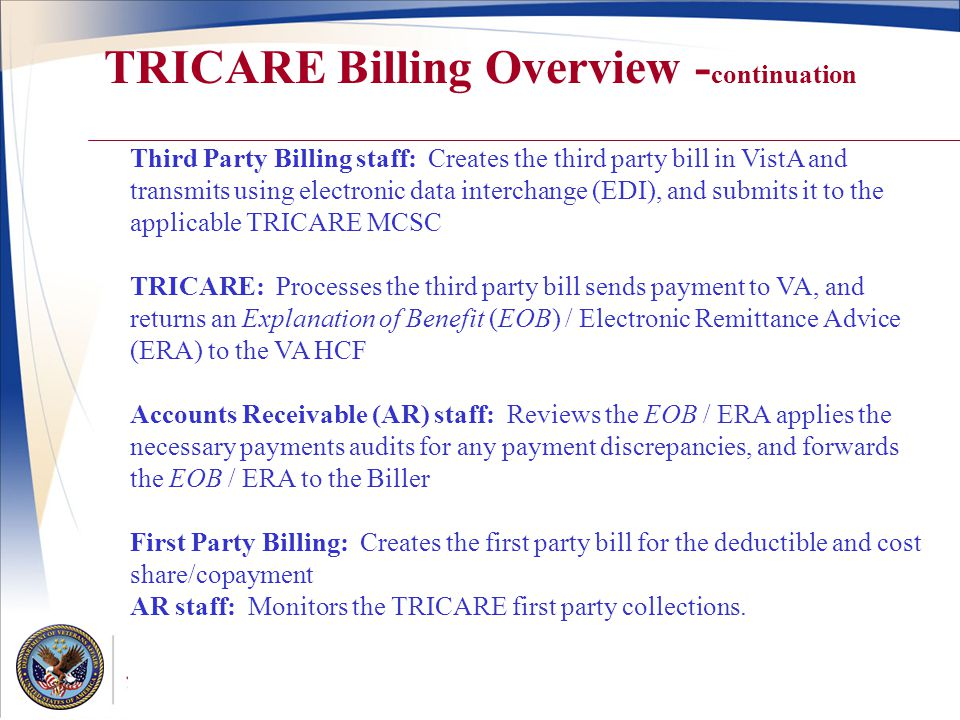 TRICARE 102 Edie A  Bean, VA Liaison-TRON - ppt video online download