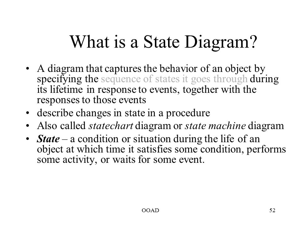 Interaction diagrams activity diagram state machine diagram ppt what is a state diagram ccuart Gallery