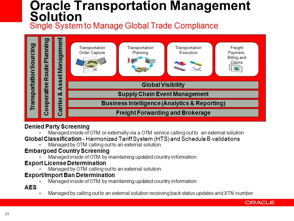 Transportation Amp Logistics Service Provider Solutions