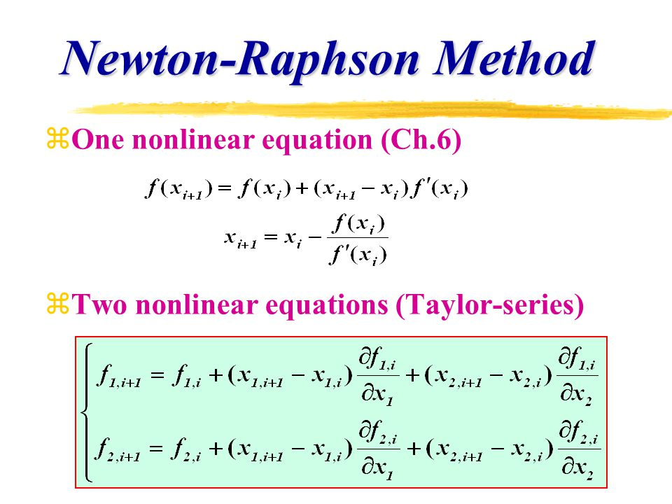 Iterative Methods for System of Equations - ppt download