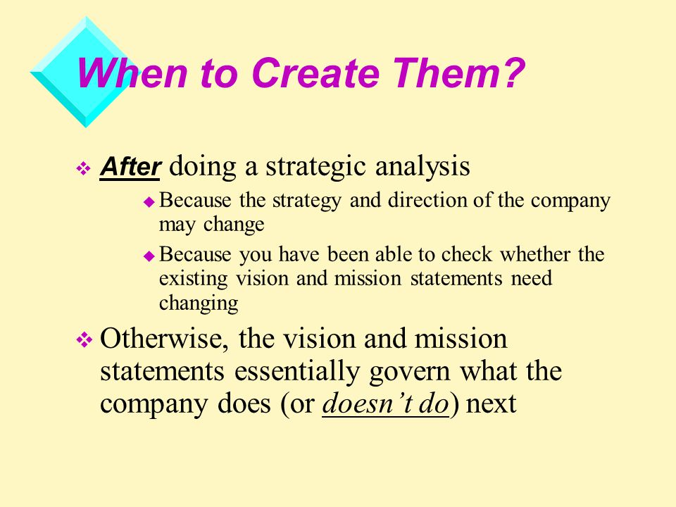 how to do a strategic analysis of a company
