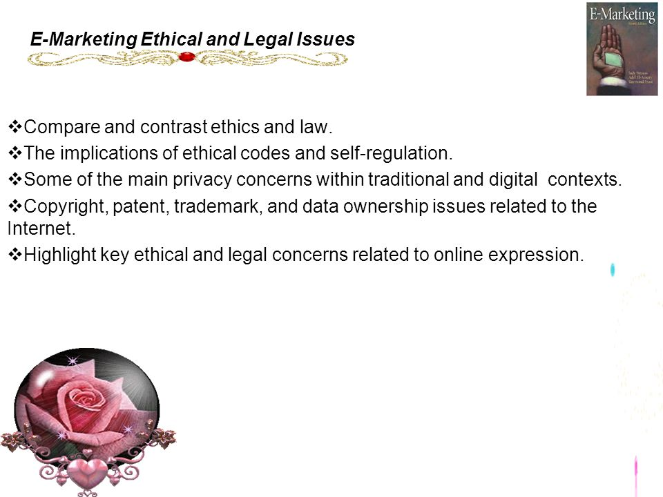 ethical and legal aspects of marketing
