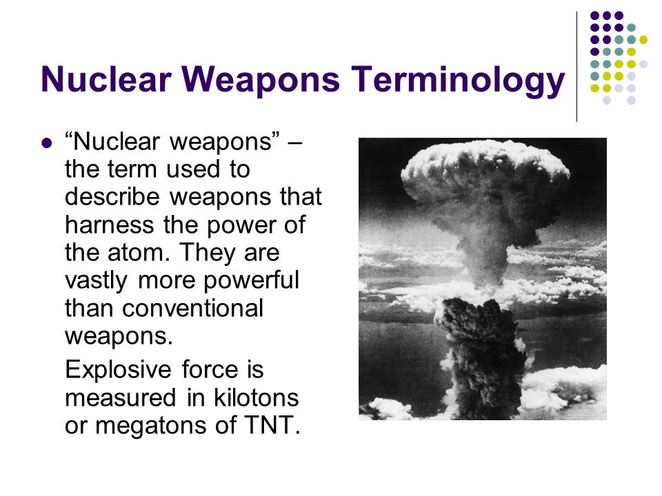 reasons against nuclear weapons