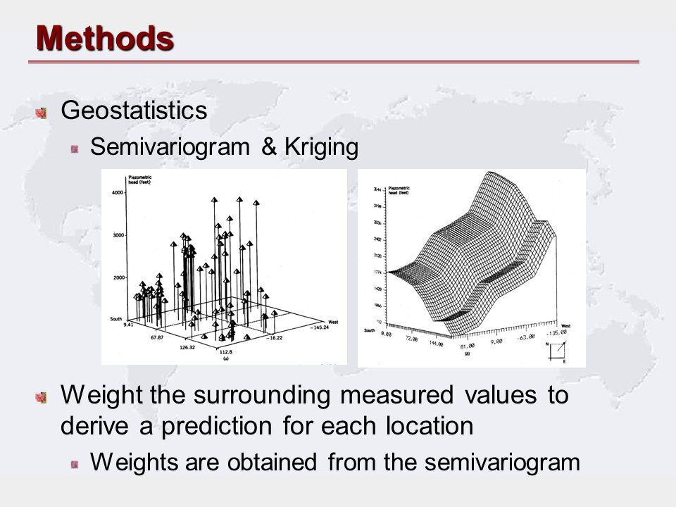 Methods Geostatistics