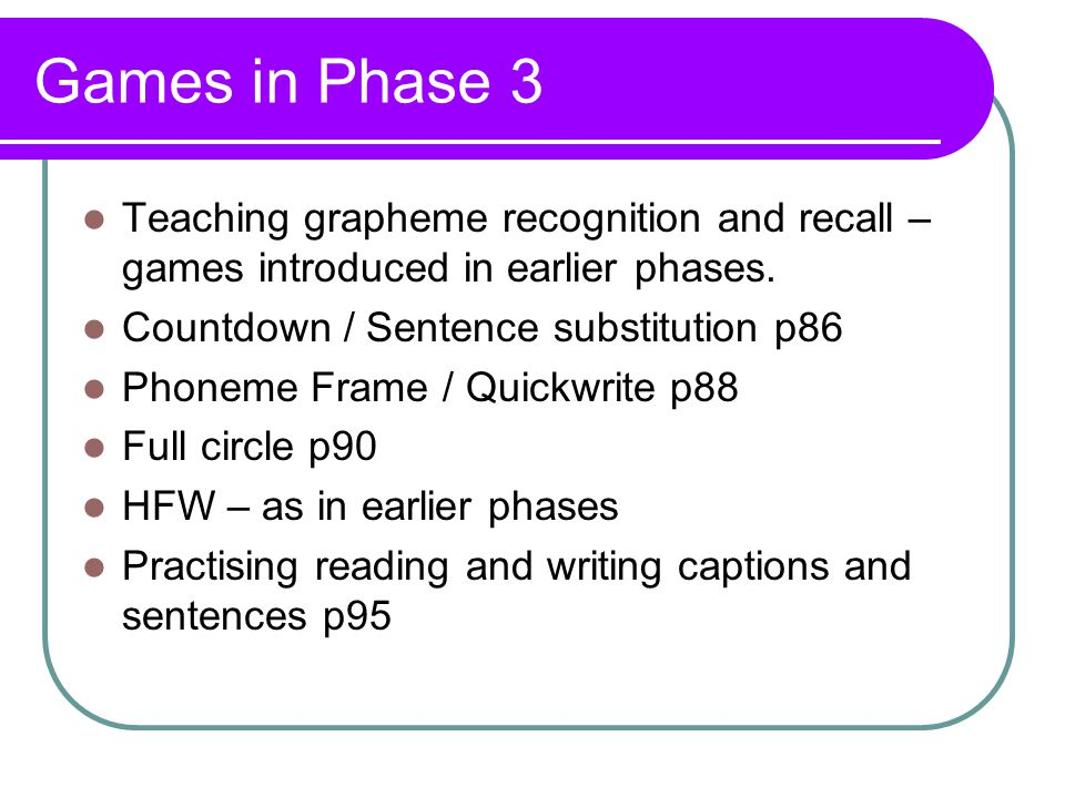 Progression in phonics - ppt video online download
