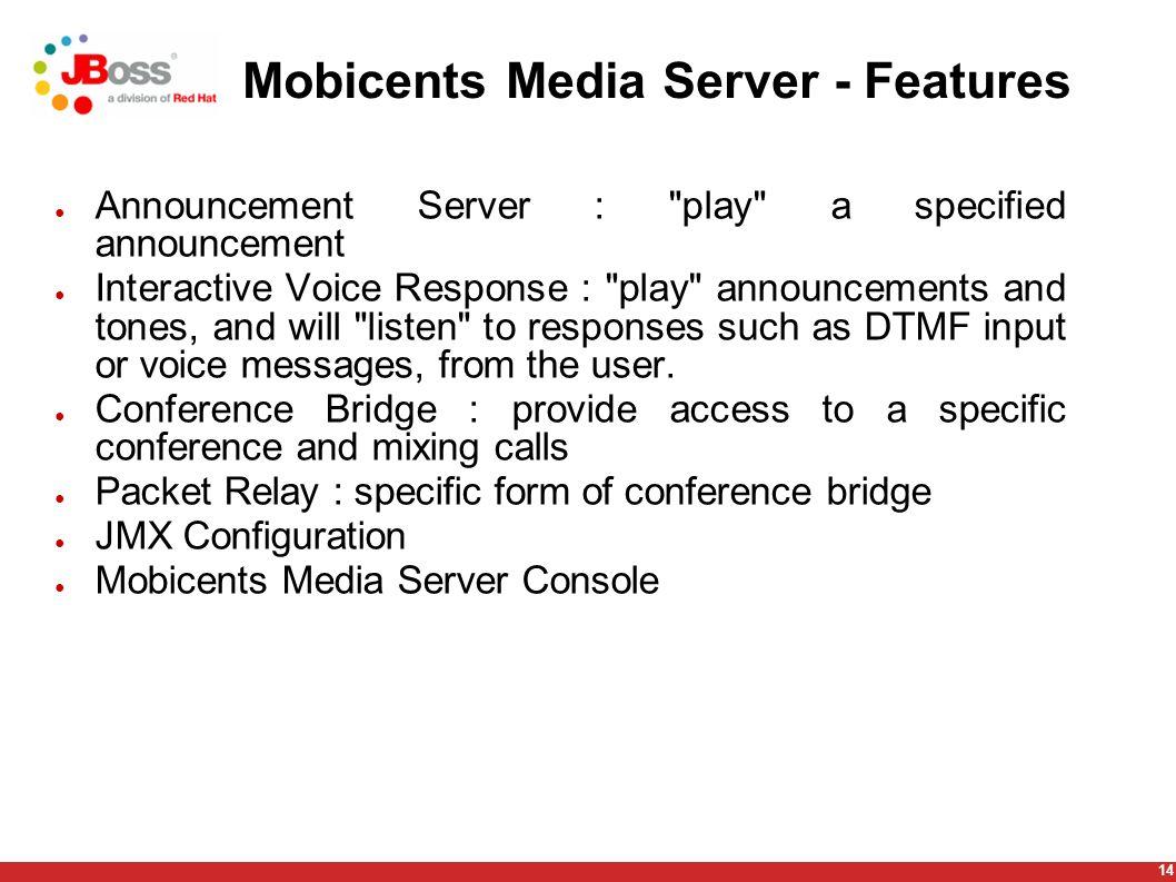 MOBICENTS - Restcomm SIP Servlets User Guide