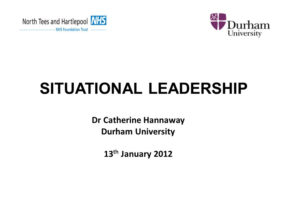 Dr Catherine Hannaway Durham University 13th January 2012