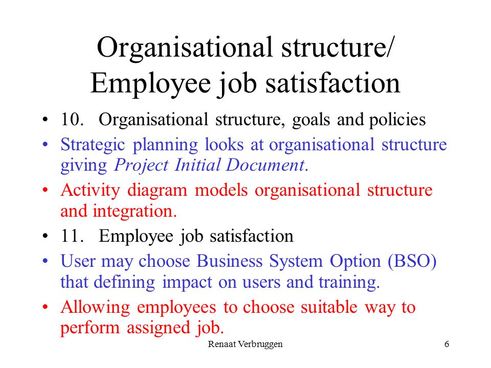 strategies for job satisfaction Strategies for enhancing job satisfaction and morale these strategies are ways to apply manager's knowledge of what provides job satisfaction and motivates workers.