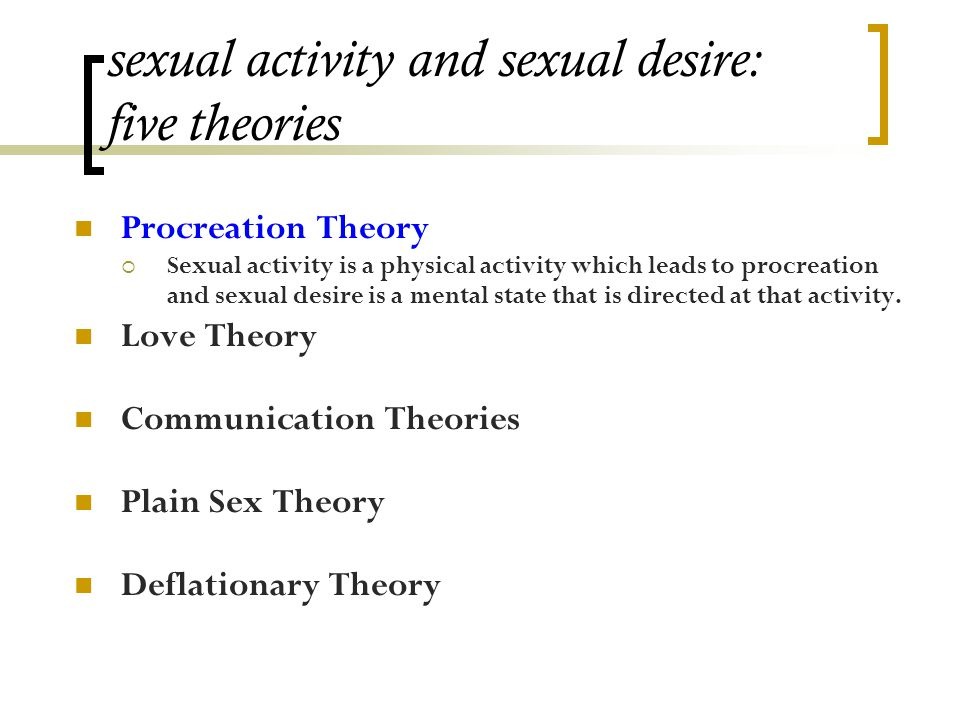 Procreation theory