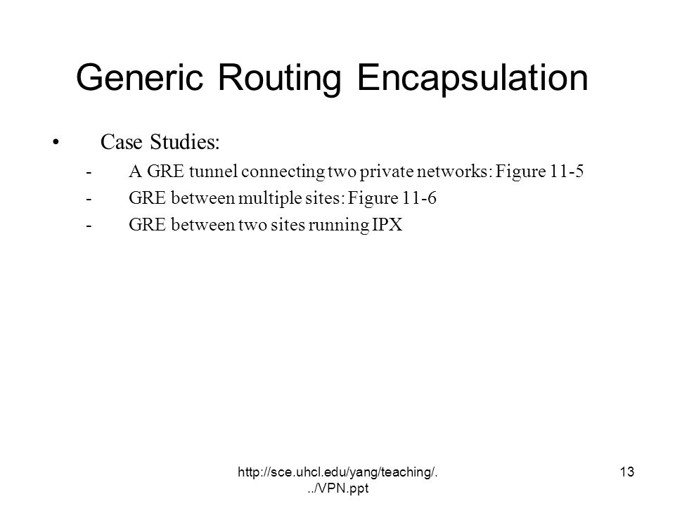 Generic Routing Encapsulation