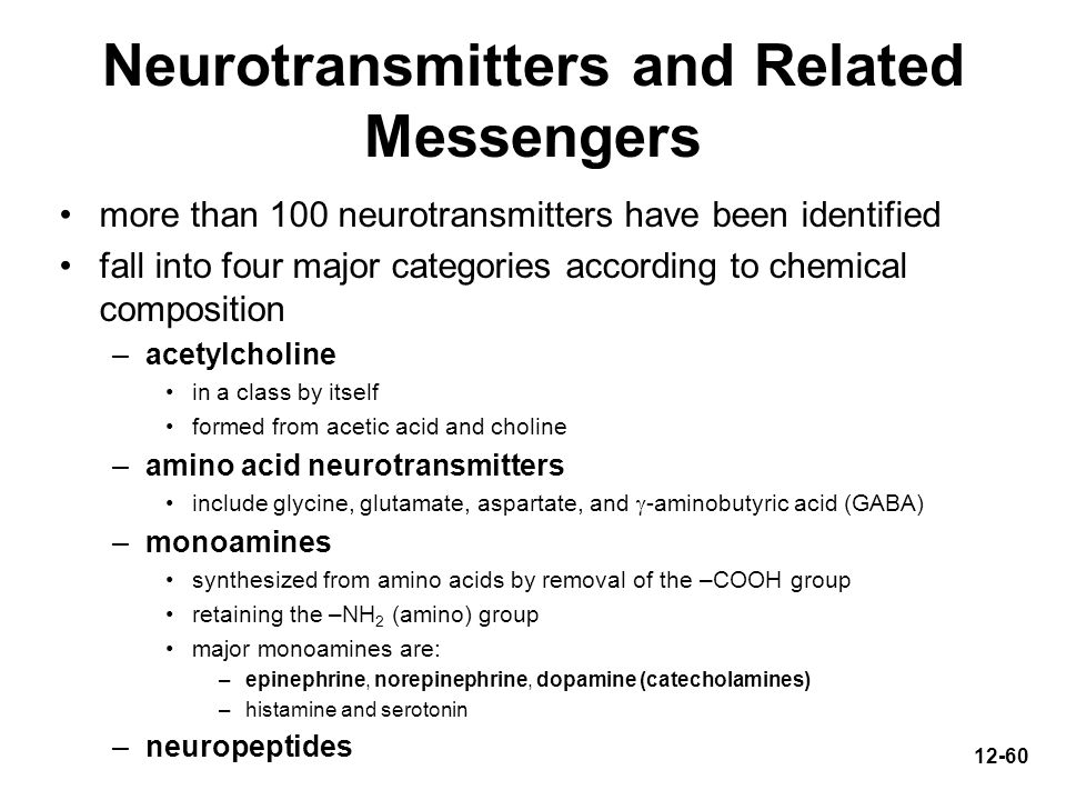 Neurotransmitters and Related Messengers