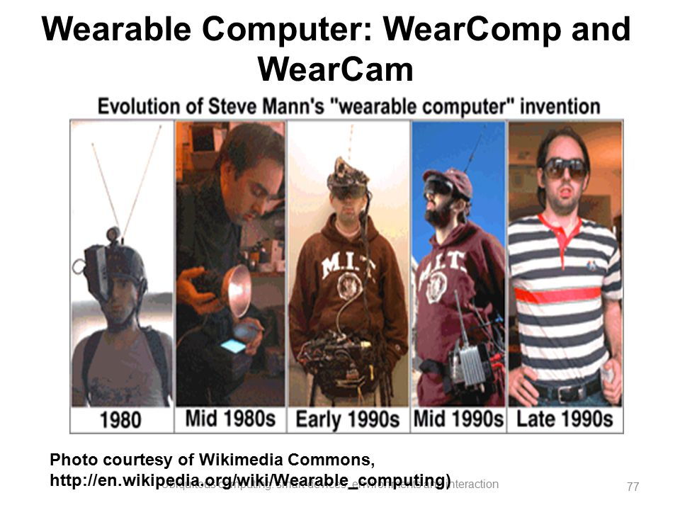 Wearable Computer: WearComp and WearCam