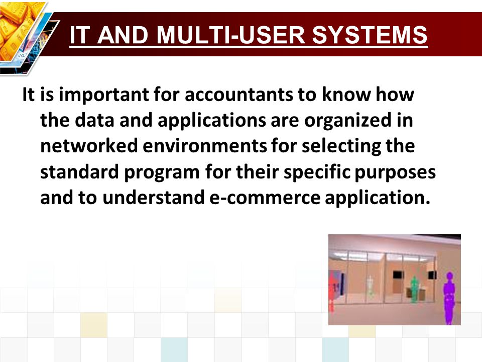 IT AND MULTI-USER SYSTEMS
