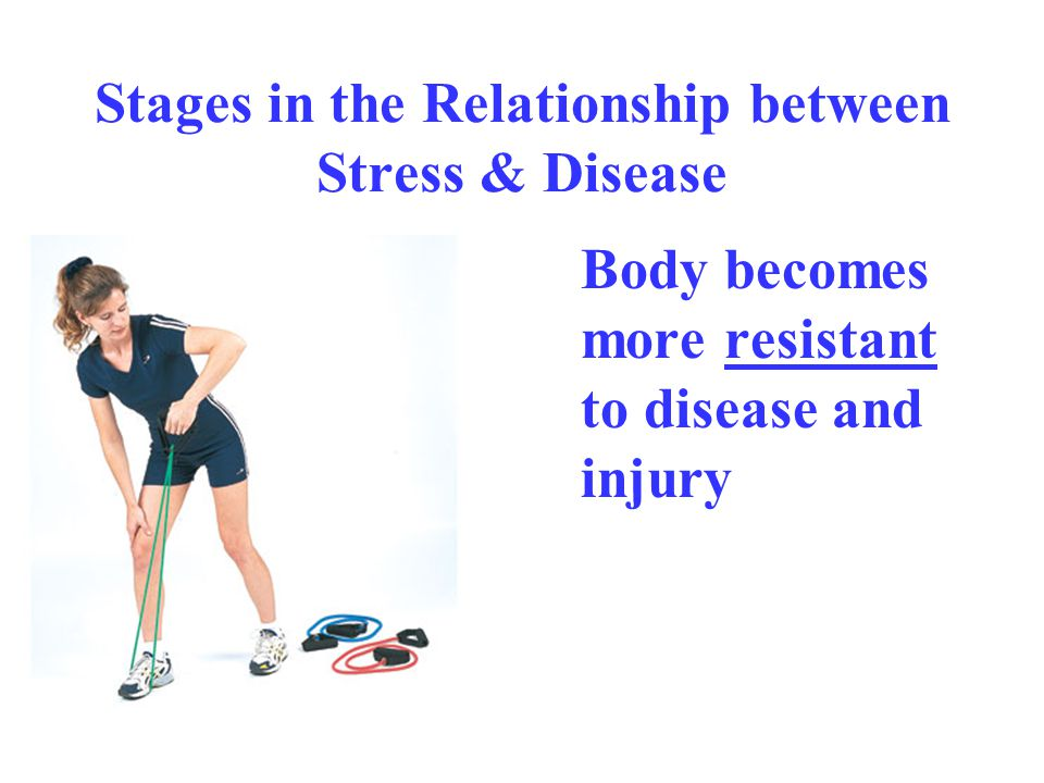 Stages in the Relationship between Stress & Disease