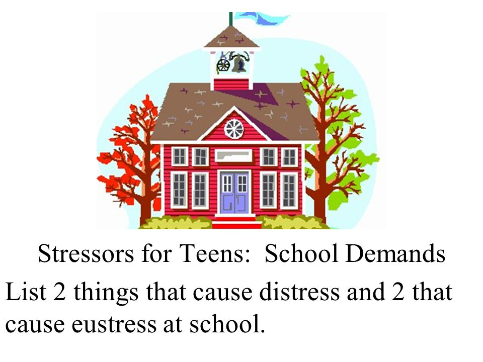 Stressors for Teens: School Demands