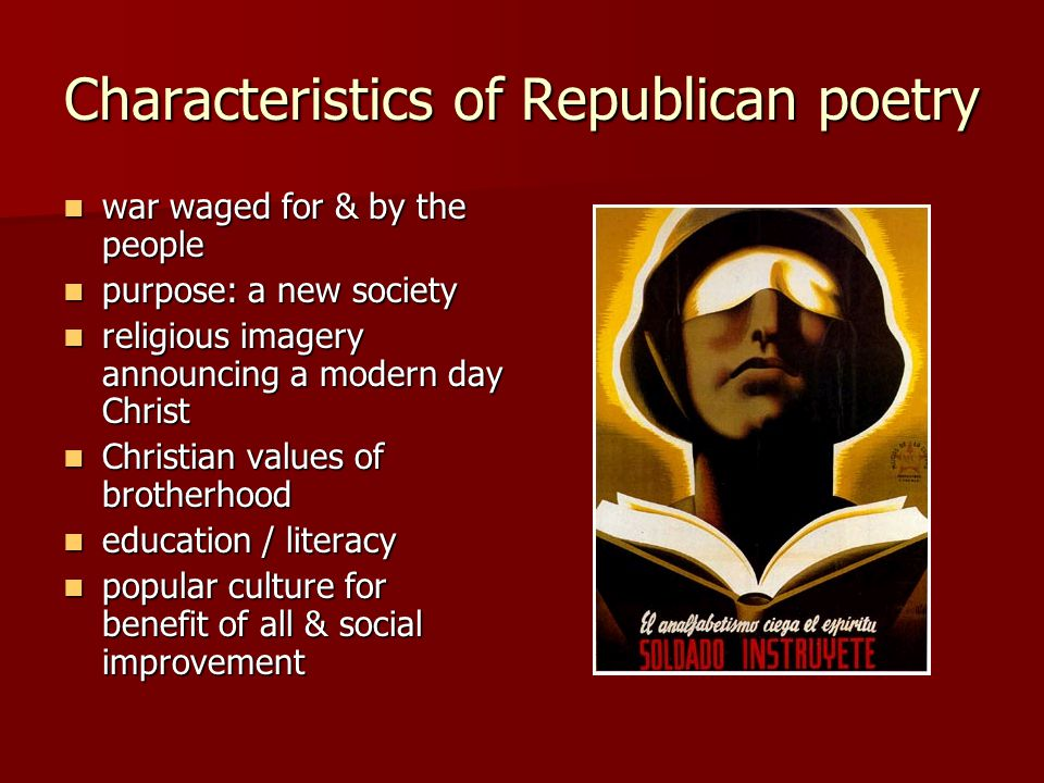 Spanish Civil War poetry - ppt video online download