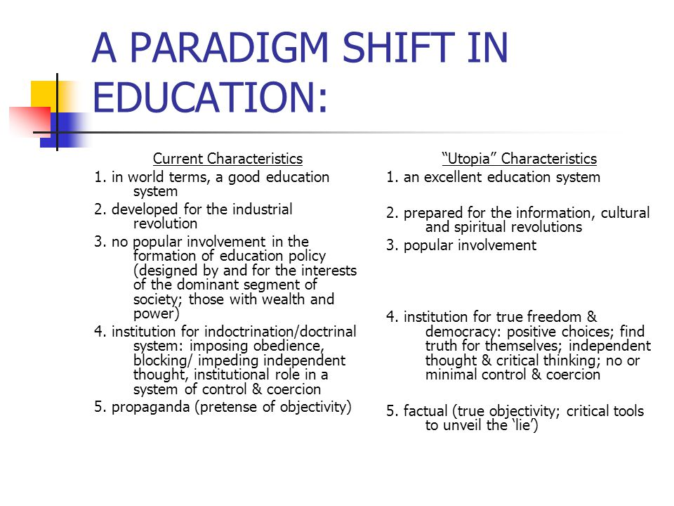 paradigm shift research paper View paradigm shift research papers on academiaedu for free proponents also claim that ebm represents a paradigmatic shift away from traditional medicine one specific objection is that application of evidence from population based clinical trials to the individual patient within the clinic is.