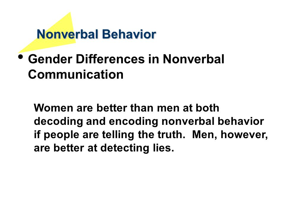 gender differences in nonverbal communication of emotion