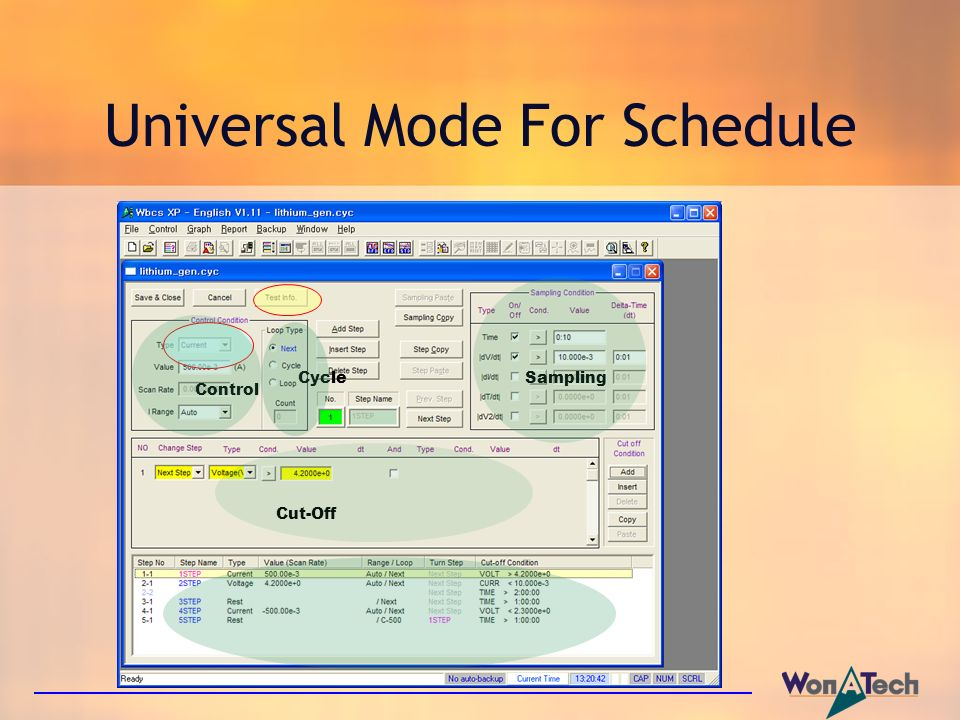 Universal Mode For Schedule