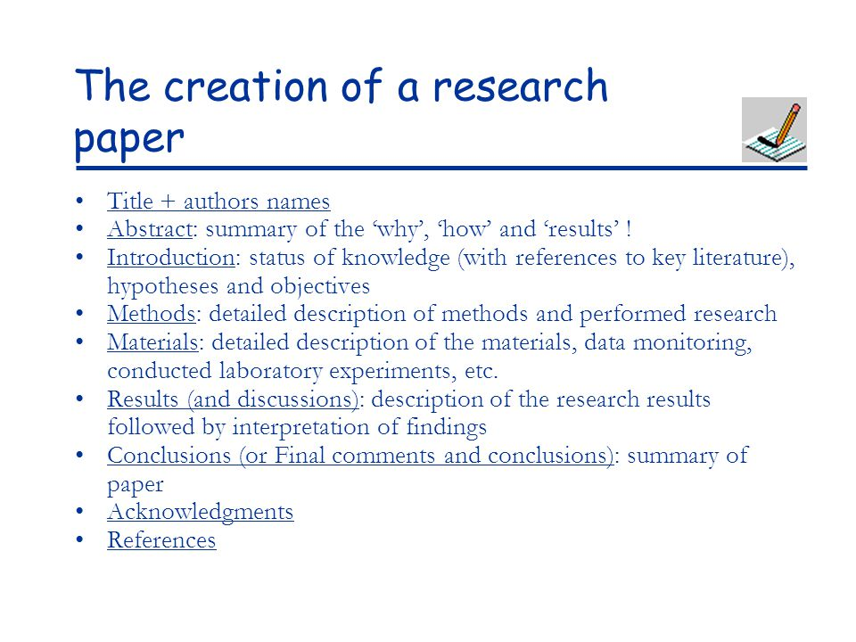learning to wrtie research papers There are very specific rules for writing and formatting papers, according to standards of research ethics and to the style of paper you're writing one common style is the modern language association ( mla ) style, which is used for literature and some social sciences.