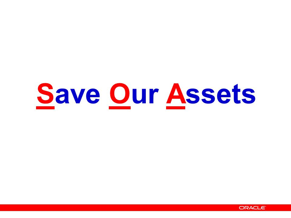 Save Our Assets