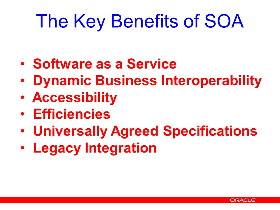 The Key Benefits of SOA Software as a Service