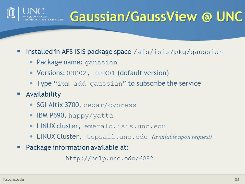 Introduction to Gaussian & GaussView - ppt video online download