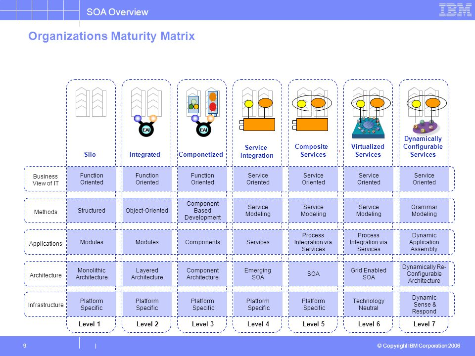 . Organizations Maturity Matrix