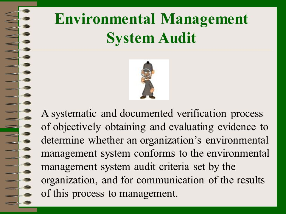 Environmental Management System Audit