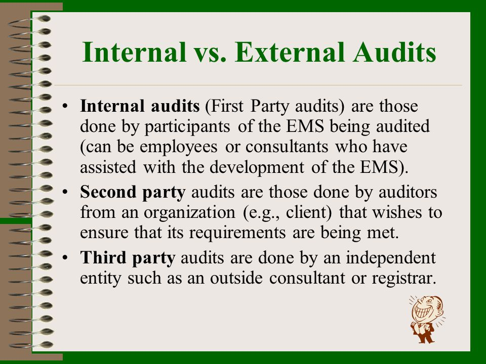 Internal vs. External Audits