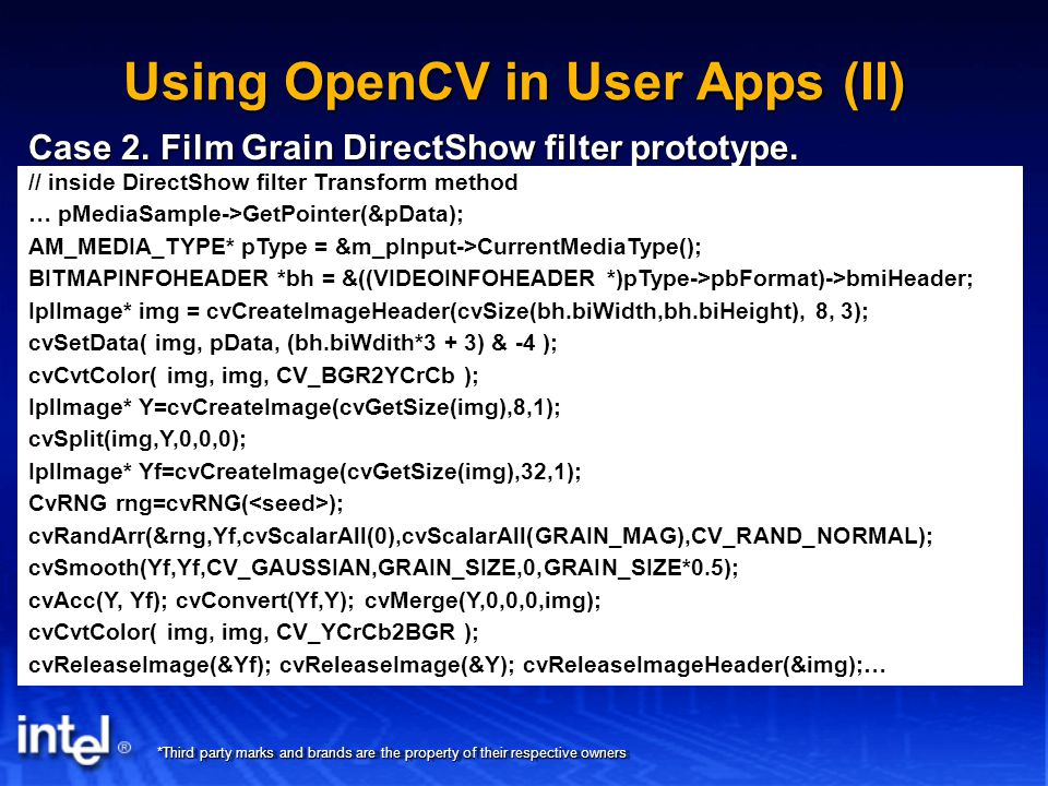 Getting Started with OpenCV - ppt video online download