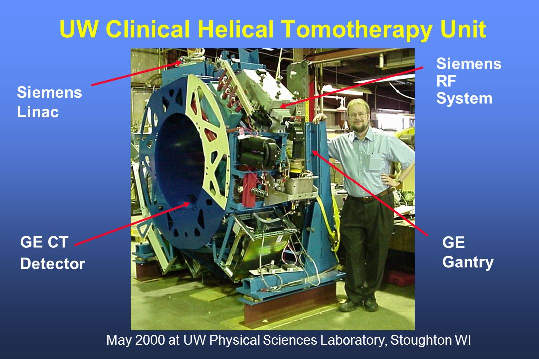 UW Clinical Helical Tomotherapy Unit