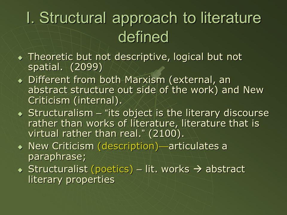 structural criticism definition