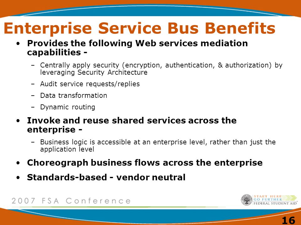 Enterprise Service Bus Benefits