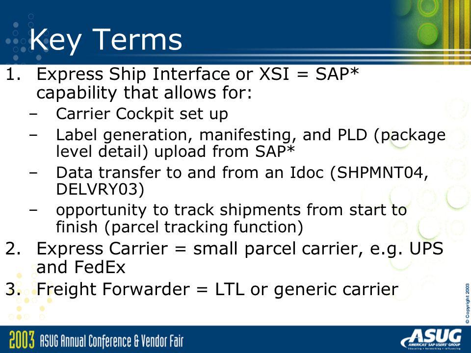 Intel's Utilization of SAP*s Carrier Cockpit (XSI) - ppt