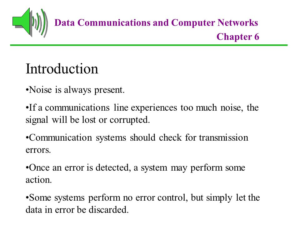 Introduction Data Communications and Computer Networks