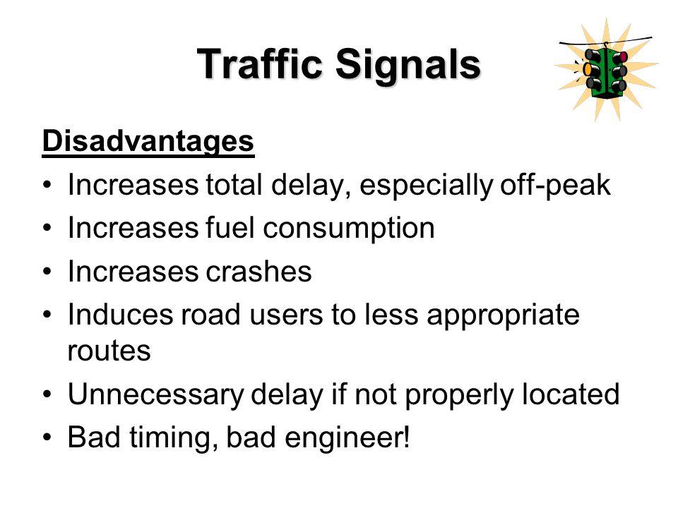 disadvantages of traffic jam