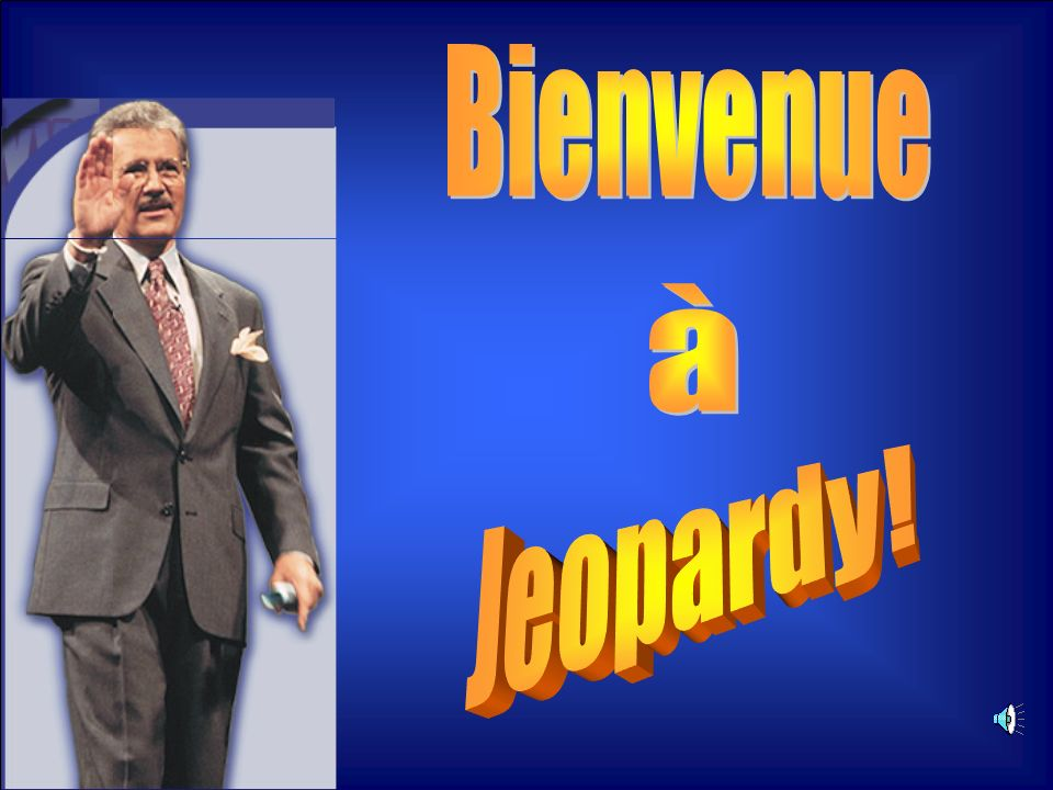 Bienvenue à Jeopardy!