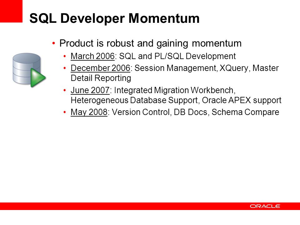 Oracle SQL Developer & Oracle Application Express Future Direction