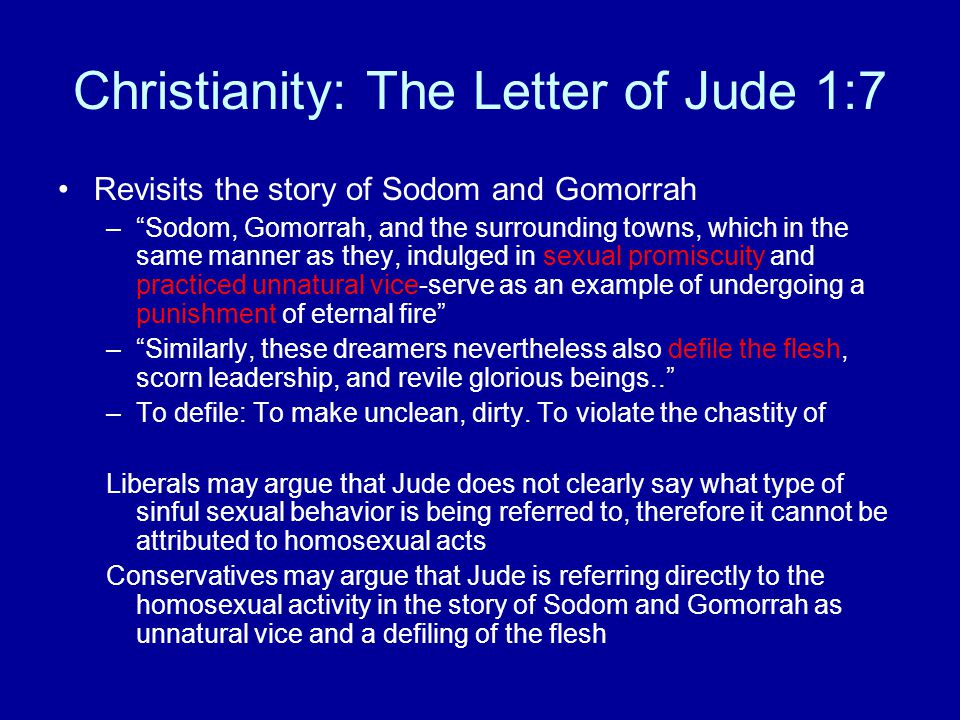 Reconstructionist judaism and homosexuality in christianity