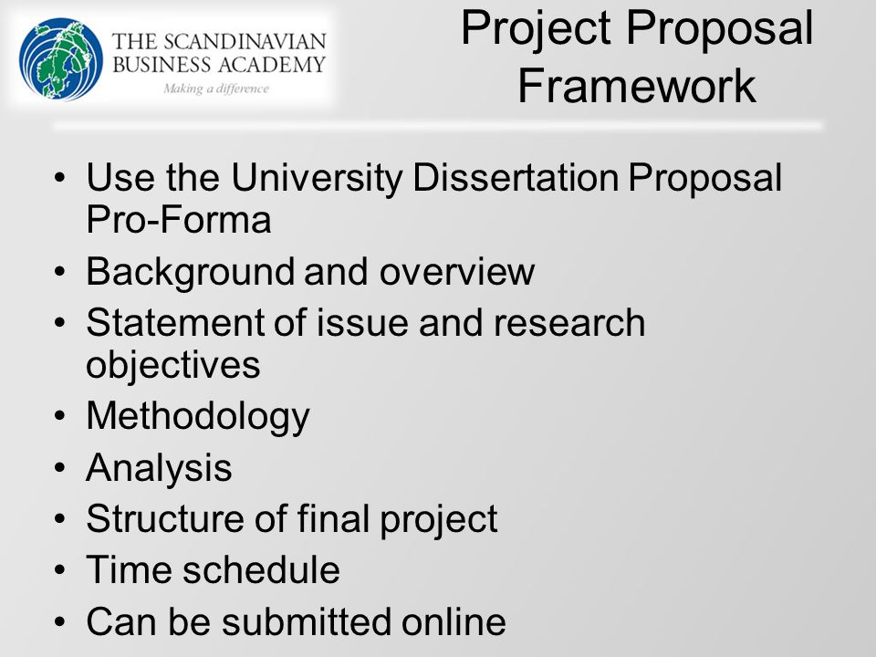 dissertation proposal framework Your proposal should fit your dissertation topic a proposal to edit a scholarly edition, to pick one exceptional possibility, will require a different presentation than a dissertation laid out in the model of.