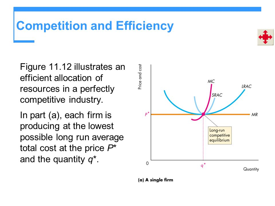Competition and Efficiency