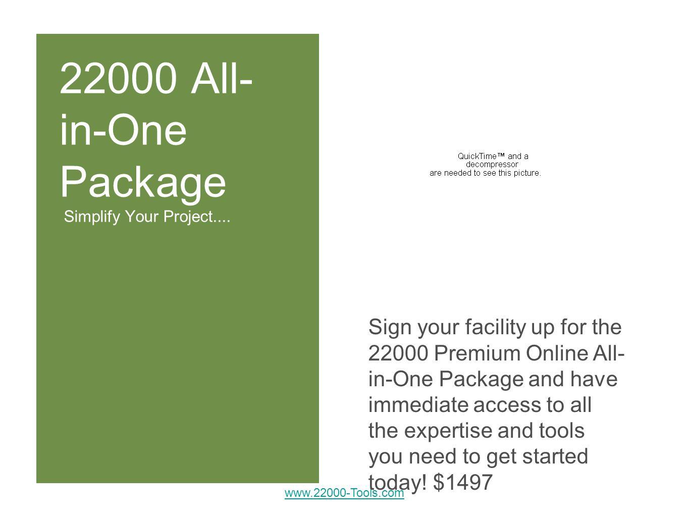 22000 All- in-One Package Simplify Your Project....