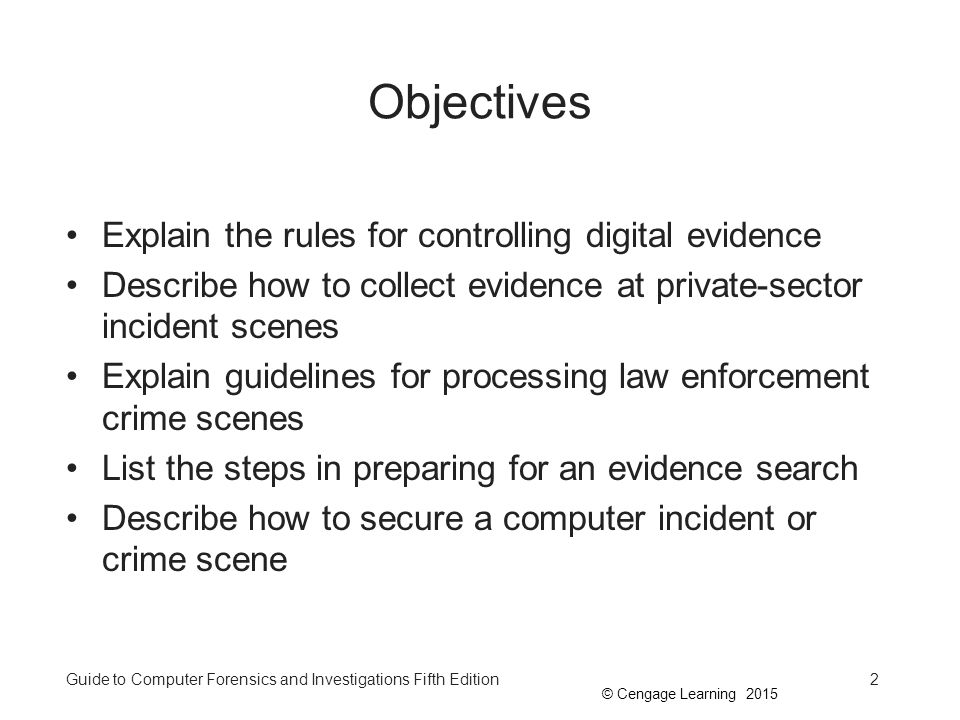 how to collect digital evidence