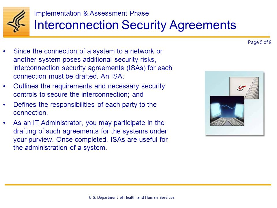 Interconnection Security Agreement Choice Image Agreement Letter
