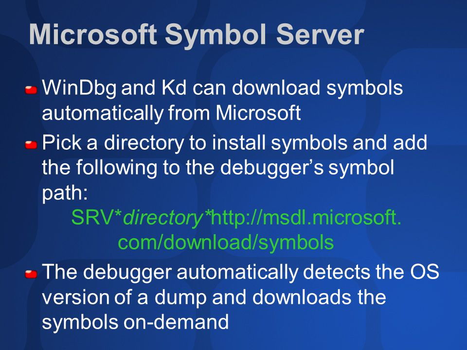 ADM390 Microsoft® Windows® Crash Dump Analysis - ppt video