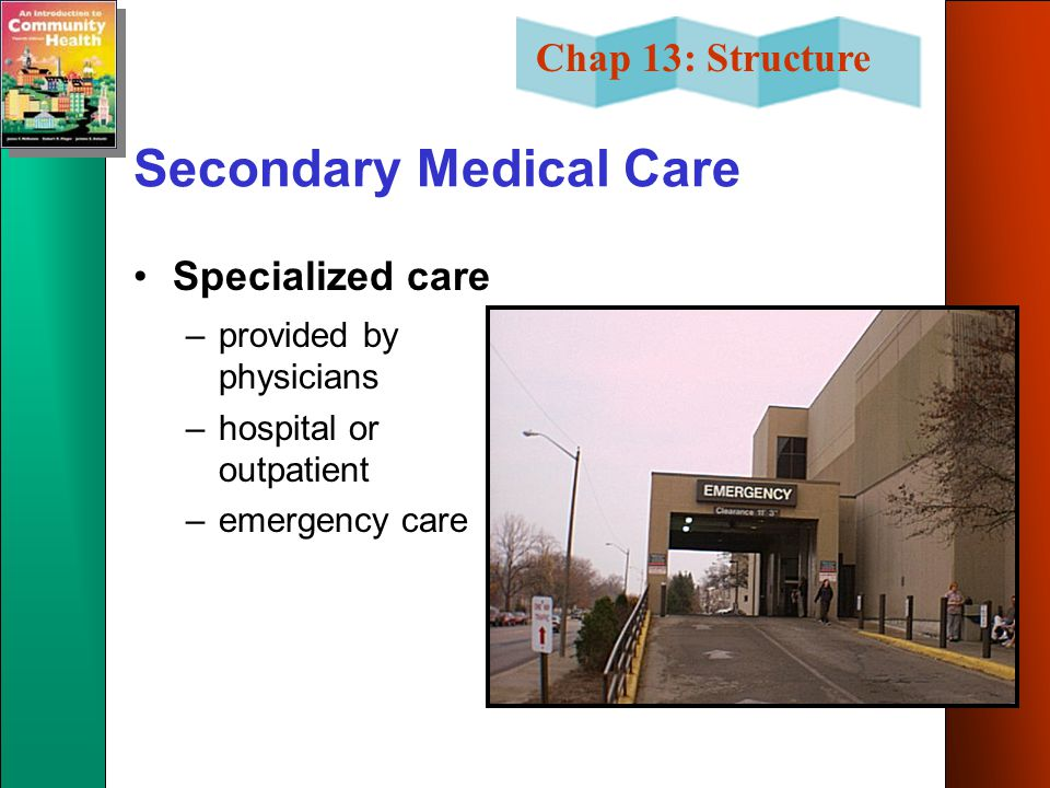 Secondary Medical Care