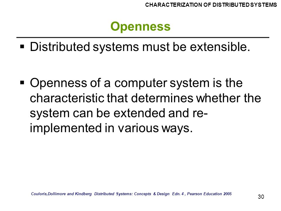 Characterization Of Distributed Systems Ppt Video Online Download
