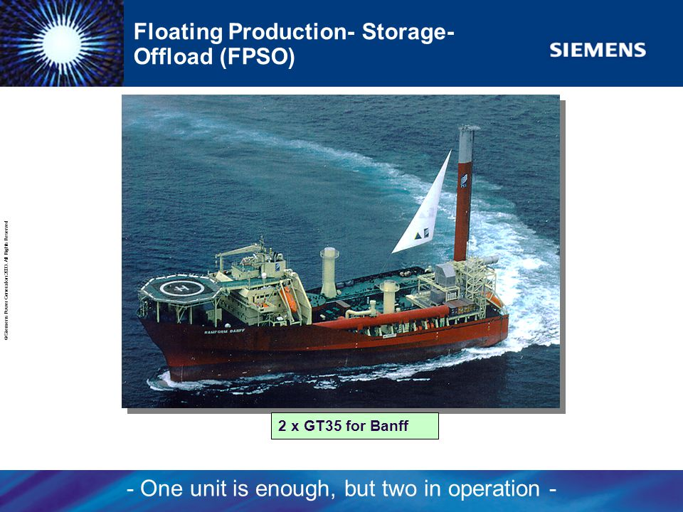 Floating Production- Storage- Offload (FPSO)